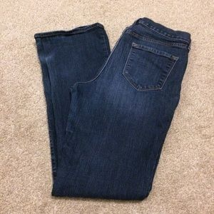 Old navy curvy high rise boot cut jeans 10 long